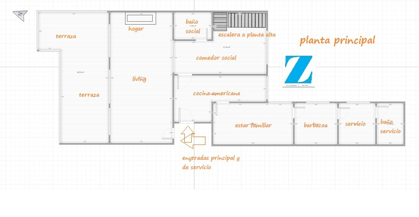 Villa Biarritz pent house